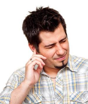 Потеря слуха ототита и насморка